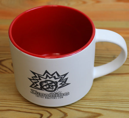 16oz Sunshine Organic Coffee Roasters Stackable Mugs      + MORE COLORS