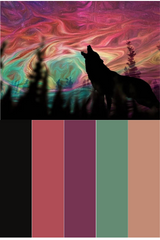 Wolf Call of the Wild Mood Board