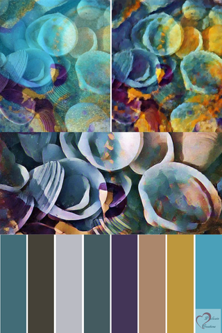 Shells Sea & Sand Mood Board