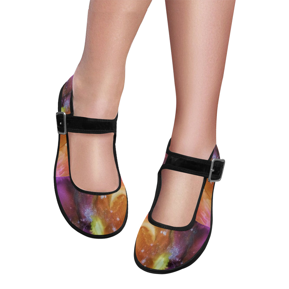 Sunrise Mila Satin Women's Mary Jane Flats