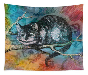 Alice in Wonderland - Cheshire Cat - Tapestry