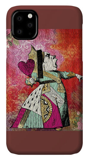 Alice in Wonderland - Queen of Hearts - Phone Case