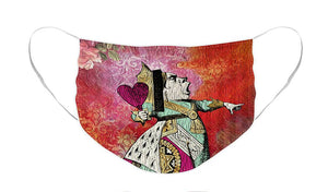 Alice in Wonderland - Queen of Hearts - Face Mask