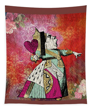 Alice in Wonderland - Queen of Hearts - Tapestry
