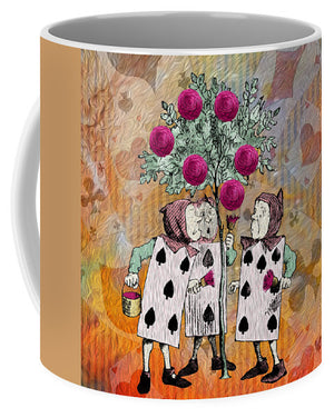 Alice In Wonderland - Rose Tree - Mug
