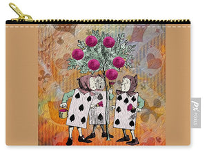 Alice In Wonderland - Rose Tree - Carry-All Pouch