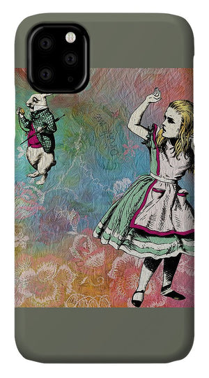 Alice In Wonderland - White Rabbit - Phone Case
