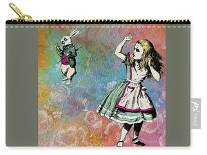 Alice In Wonderland - White Rabbit - Carry-All Pouch
