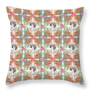 Another Time Pattern - Throw Pillow