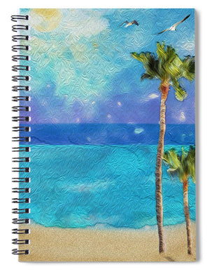 Beach Day - Spiral Notebook