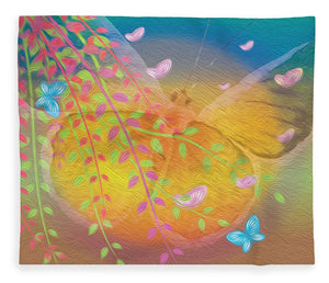 Beauty In Flight - Butterflies - Blanket