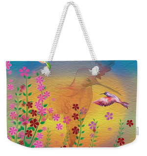 Beauty In Flight - Hummingbirds - Weekender Tote Bag