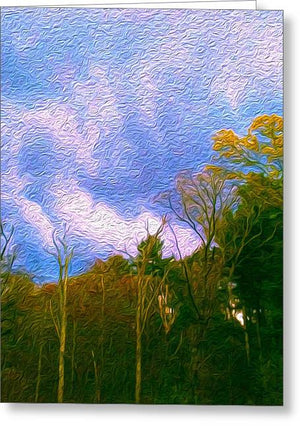 Between Storms - Greeting Card