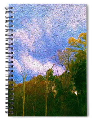 Between Storms - Spiral Notebook