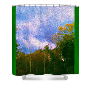 Between Storms - Shower Curtain