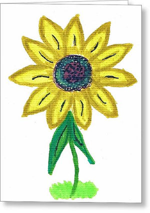Black-Eyed Susan - Greeting Card