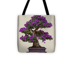 Bonsai Tree - 1 of 3 - Tote Bag