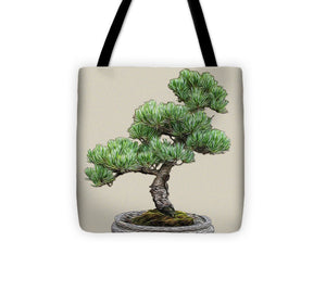 Bonsai Tree - 2 of 3 - Tote Bag