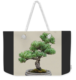 Bonsai Tree - 2 of 3 - Weekender Tote Bag