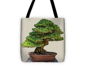 Bonsai Tree - 3 of 3 - Tote Bag