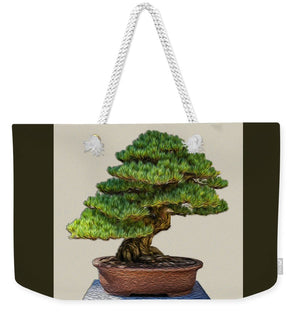 Bonsai Tree - 3 of 3 - Weekender Tote Bag