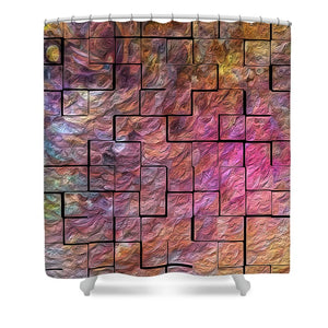Building Blocks - Shower Curtain