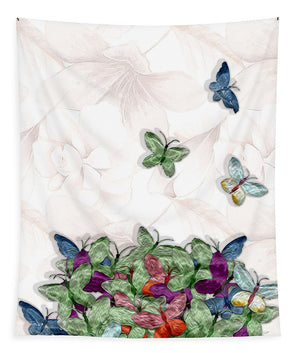 Butterfly Bouquet 1 of 2 - Tapestry