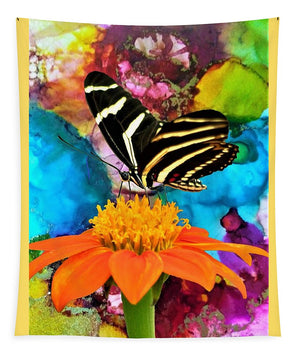 Butterfly Snacktime - Tapestry