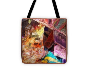 Butterfly Wings Abstract - Tote Bag