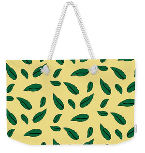 Catch the Bouquet Leaves Pattern - Weekender Tote Bag