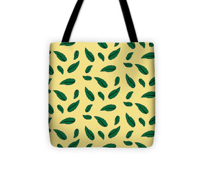 Catch the Bouquet Leaves Pattern - Tote Bag