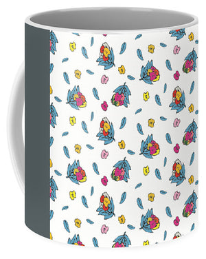 Catch the Bouquet Pattern 2 - Mug