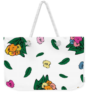 Catch the Bouquet Pattern Original - Weekender Tote Bag