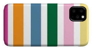 Catch the Bouquet Stripe Pattern - Phone Case