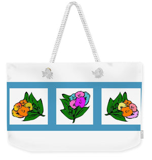 Catch the Bouquet Triptych - Weekender Tote Bag