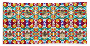 Circus Pattern - Bath Towel