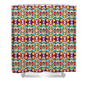 Circus Pattern - Shower Curtain