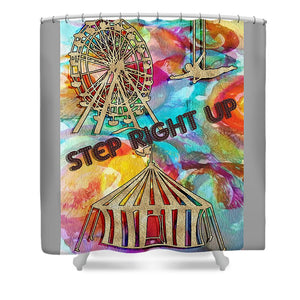 Circus Poster 1 of 2 - Shower Curtain