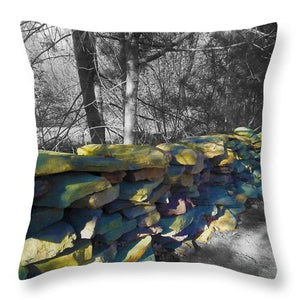 Colorful Flagstone - Throw Pillow