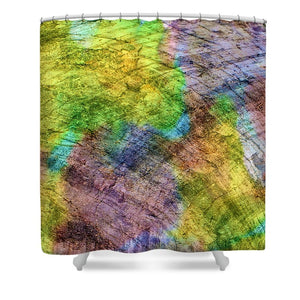 Connected World - Shower Curtain