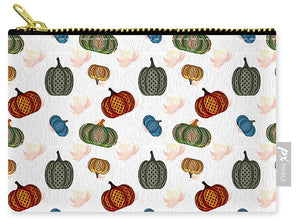 Country Pumpkins Pattern - Carry-All Pouch