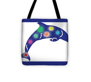 Dolphin 2 - Tote Bag