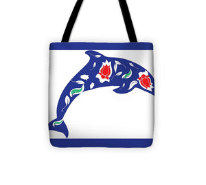 Dolphin 3 - Tote Bag