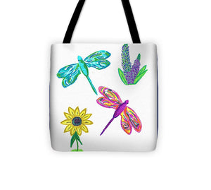 Dragonfly Treats - Tote Bag