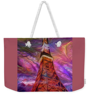 Eiffel Tower At Night - Weekender Tote Bag