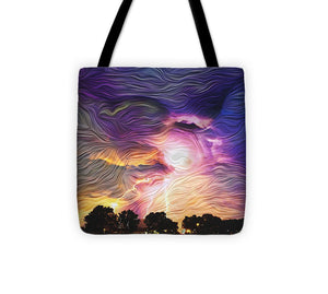 Eye of the Storm - Tote Bag