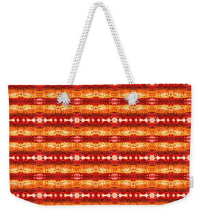 Fire Pattern - Weekender Tote Bag