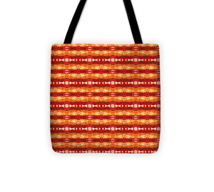 Fire Pattern - Tote Bag