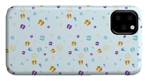 Flip to the Flops Pattern - Phone Case