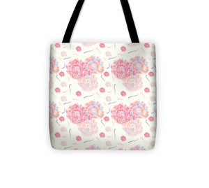 Flower Bouquet Pattern - Tote Bag